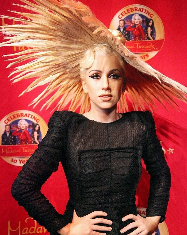 Lady Gaga in Wax