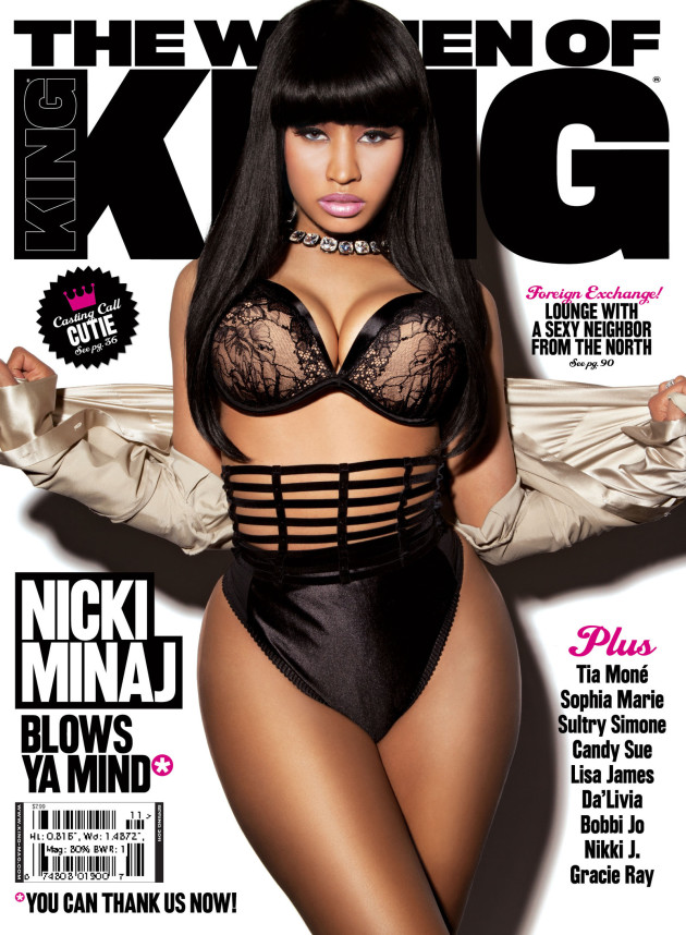 Nicki Minaj on King