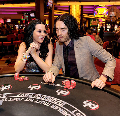 Russell and Katy Brand