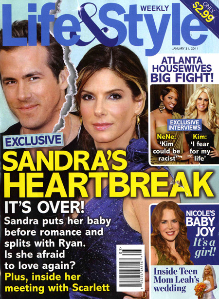 Sandra and Ryan SPLIT!
