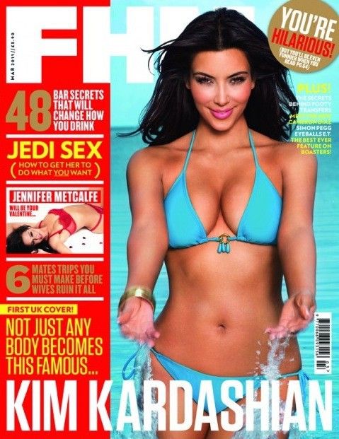 Covering FHM UK