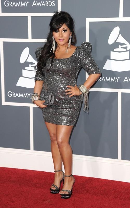 Snooki at the Grammys