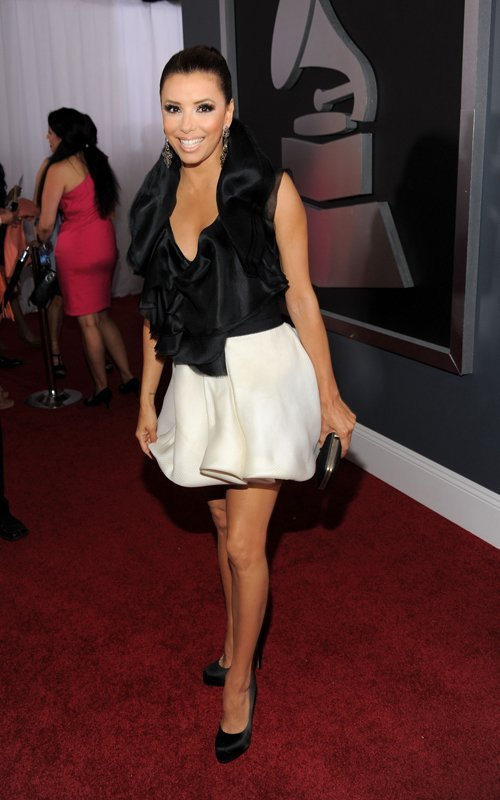 Eva Longoria at the Grammys
