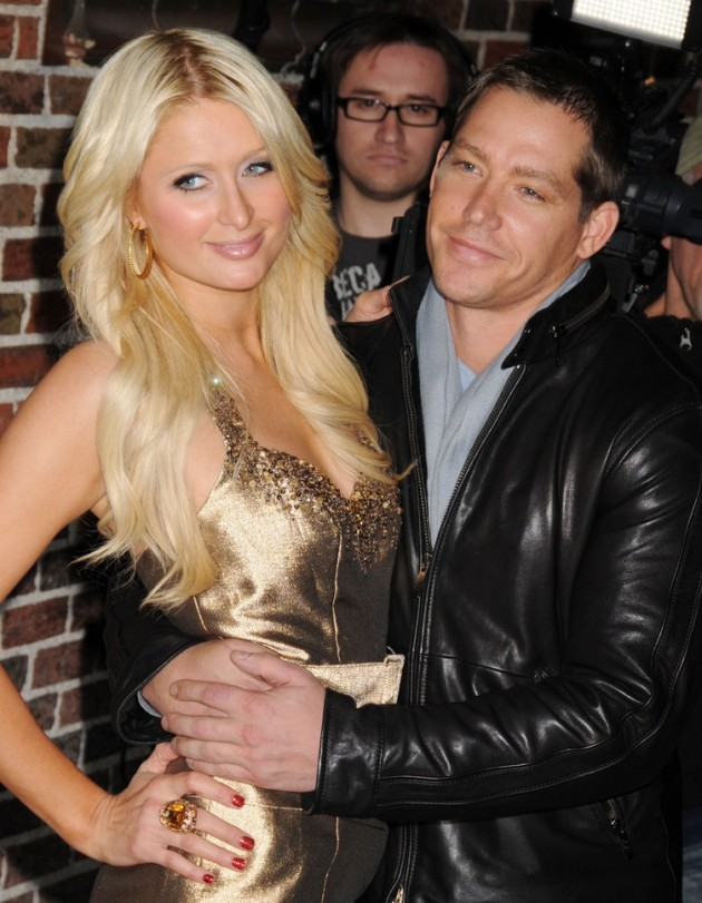 Cy Waits and Paris Hilton
