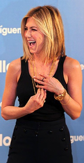 Aniston With Shorter Hair