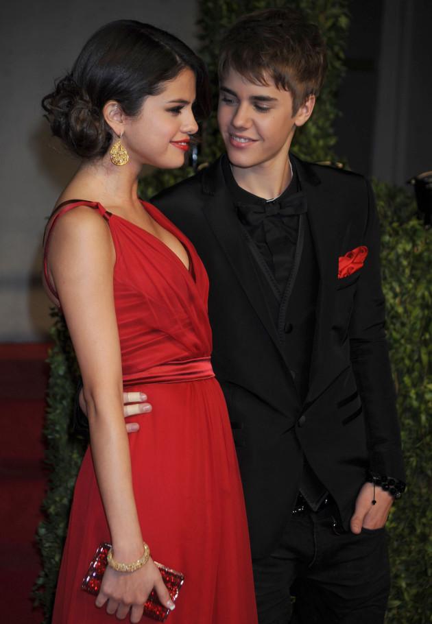 Selena Gomez and Justin Bieber Pic