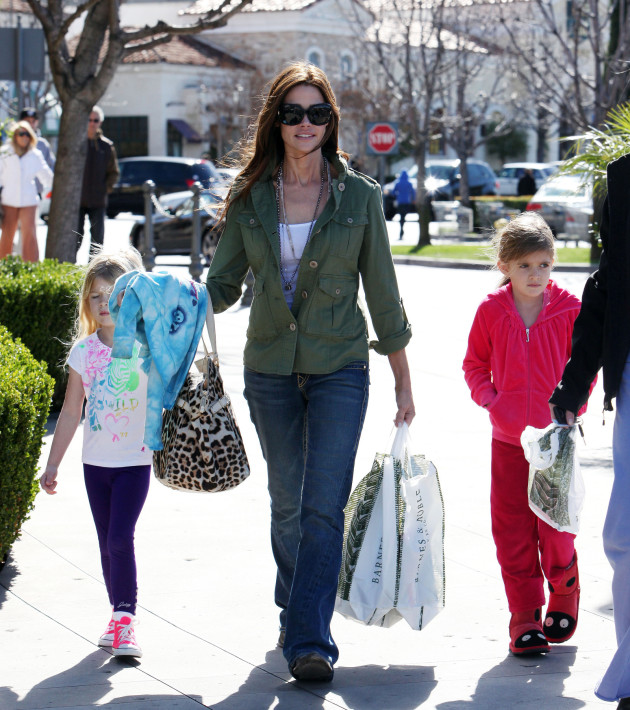 Denise Richards and Daughters