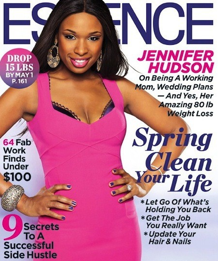 Jennifer Hudson on Essence