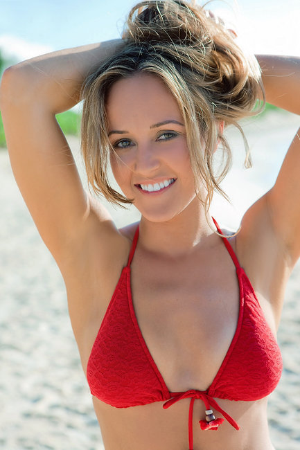 Ashley Hebert Sports Illustrated Pic