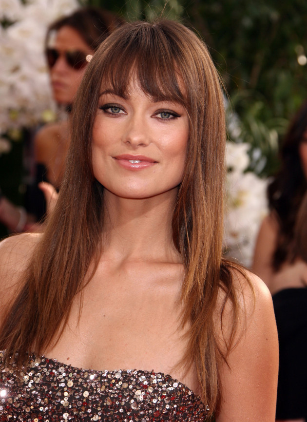Olivia Wilde at the Golden Globes