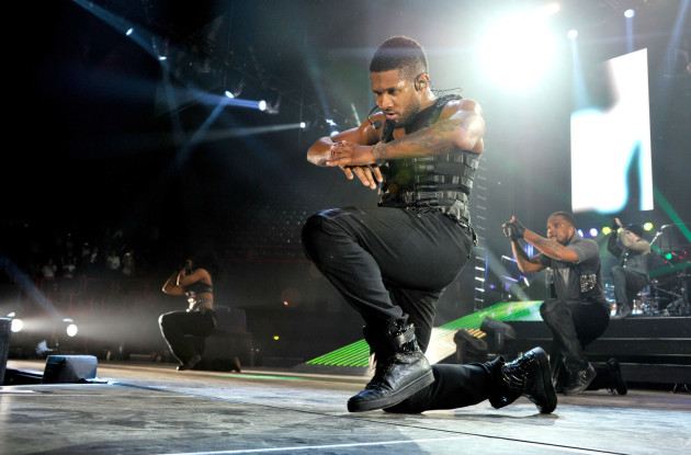 Usher Concert Pic