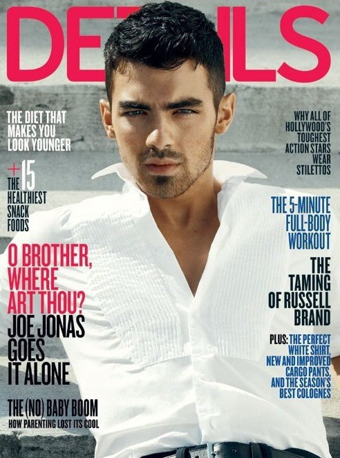 Details Magazine Cover