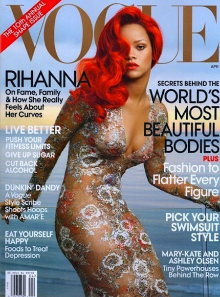 Rihanna in Vogue