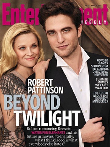 Robert Pattinson EW Cover
