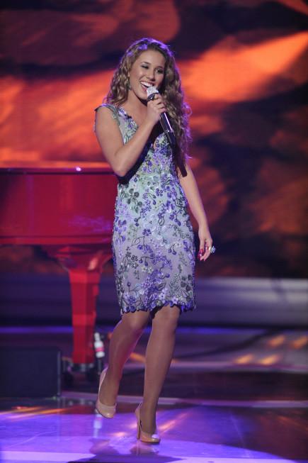 Haley Reinhart on Stage