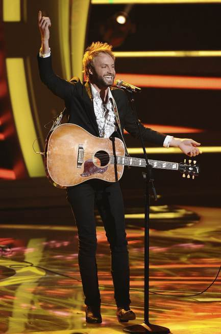 Paul McDonald on Idol