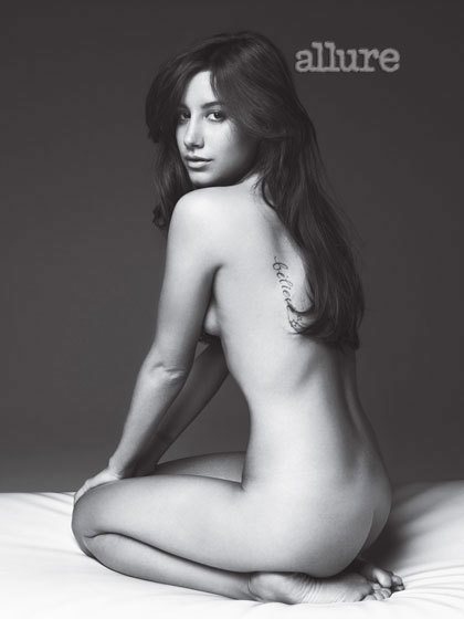 Ashley Tisdale Nude
