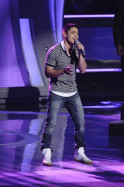 Stefano Langone on American Idol