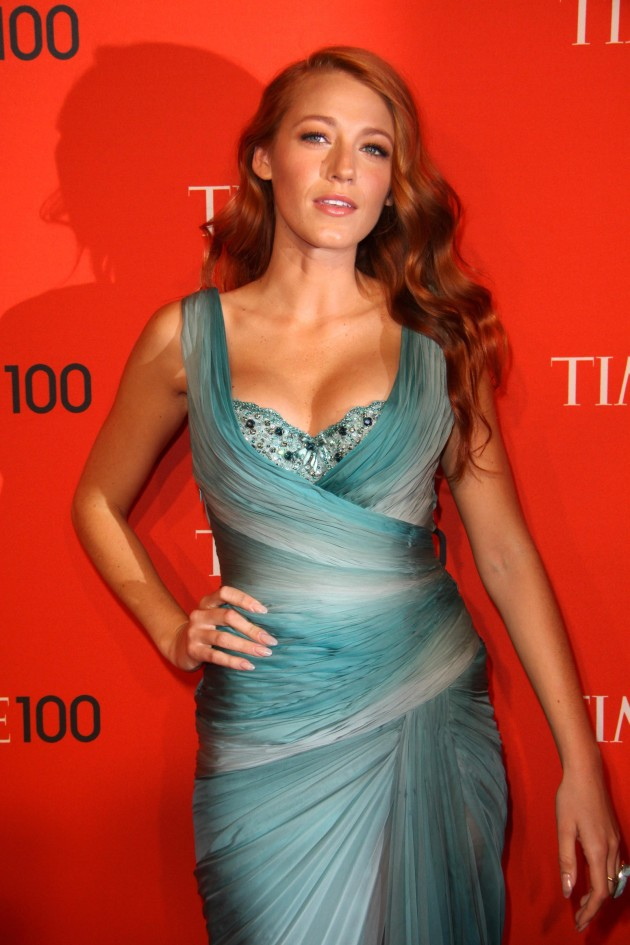 Blake Lively, Red Hair