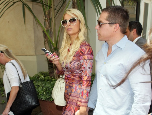 Paris Hilton and Cy Waits Image