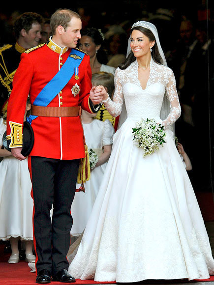 The Royal Wedding Couple