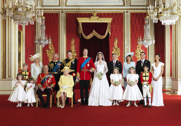 Official Royal Wedding Portrait