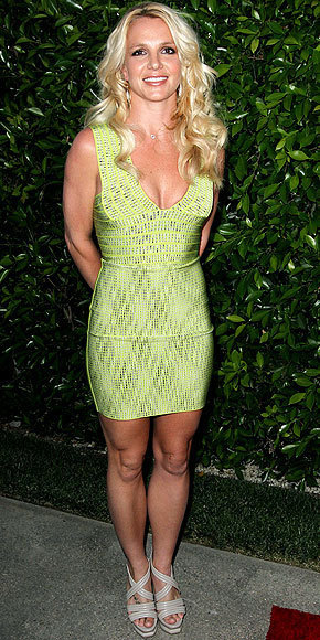 Britney Spears, Green Dress