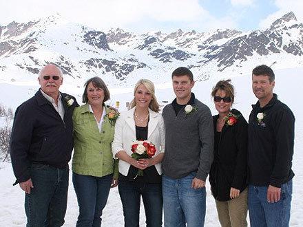 Track Palin Wedding