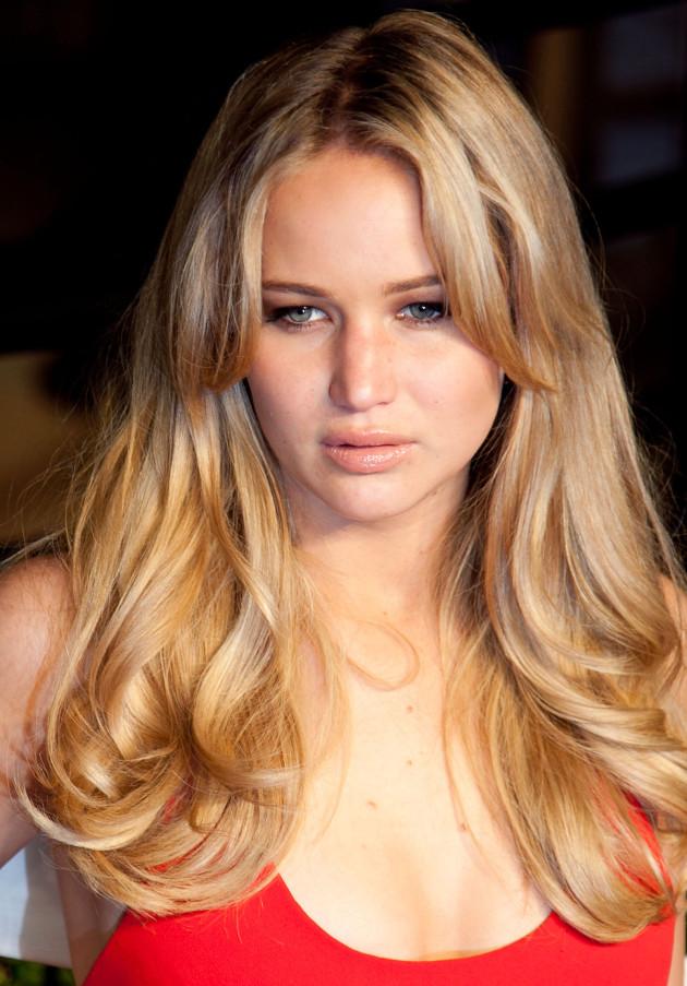 Celebrity Hair Affair Jennifer Lawrence The Hollywood