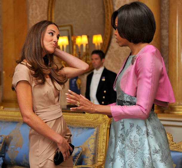 Michelle Obama and Kate Middleton