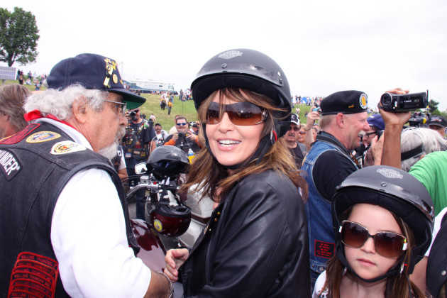Sarah Palin in Leather