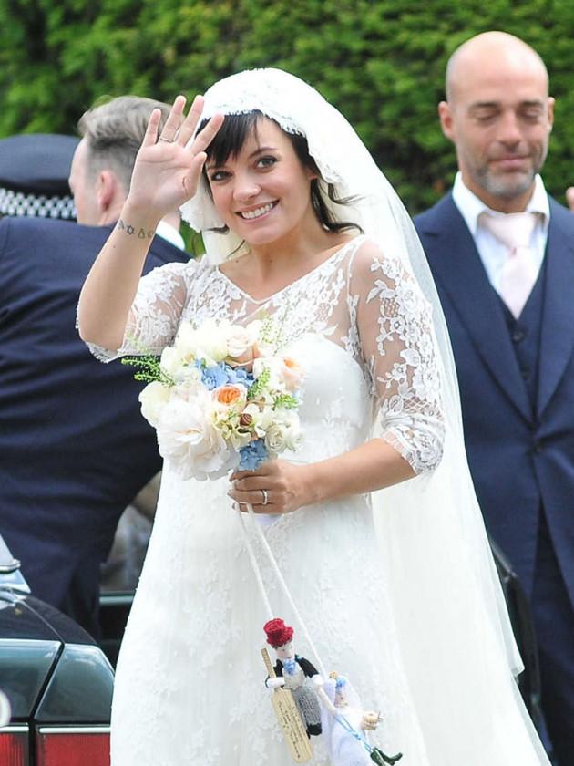 Lily Allen Wedding Dress