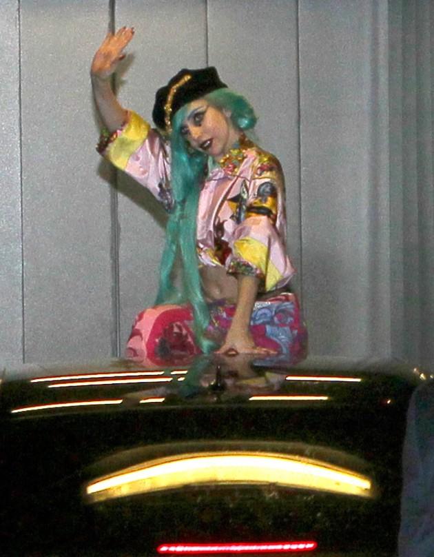 Gaga in France