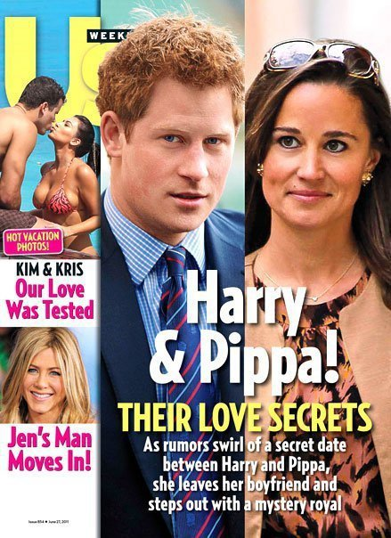 Pippa and Harry