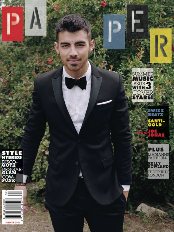 Joe Jonas in Paper Magazine
