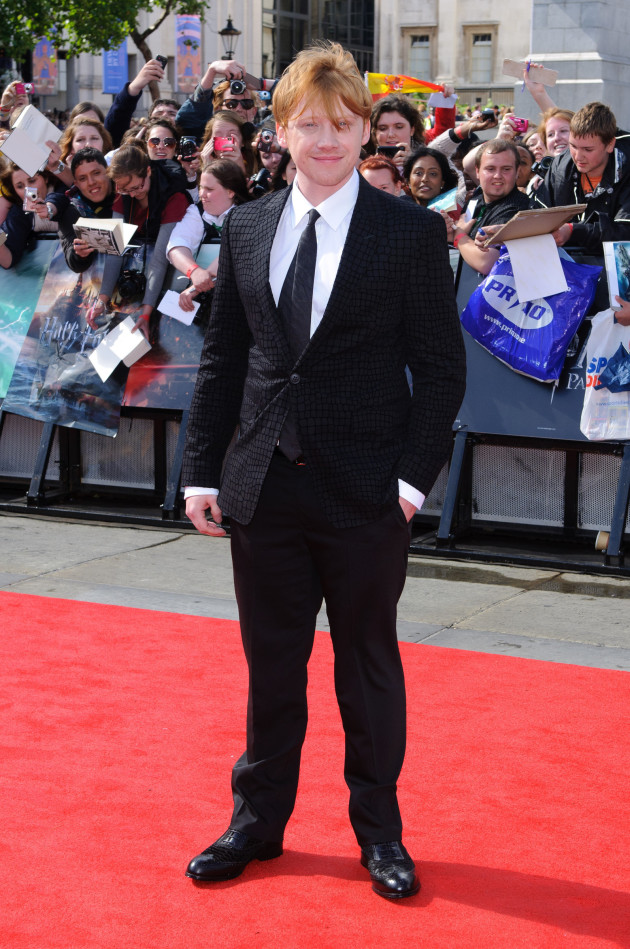 Rupert Grint Premiere Pic