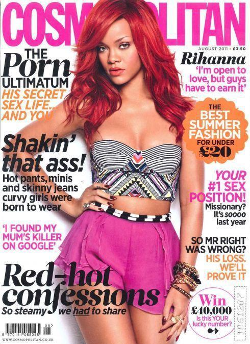 Rihanna Cosmo Cover (UK)
