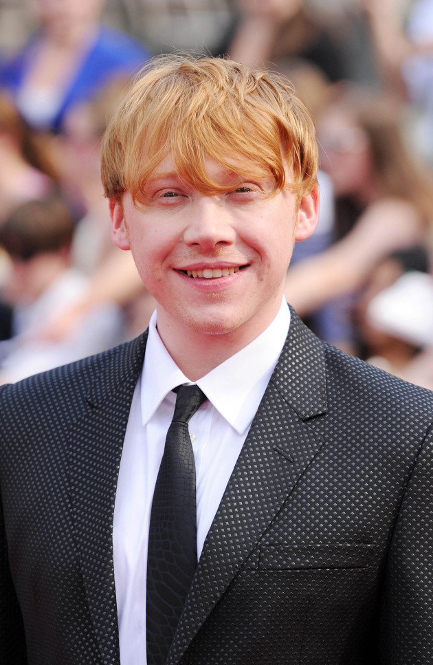 Rupert Grint in NYC