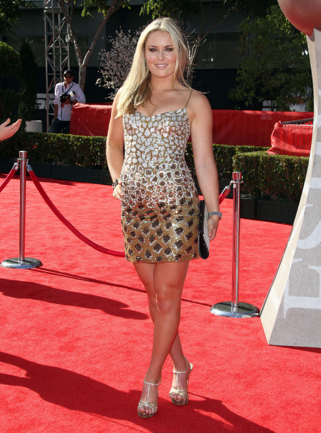 Lindsey Vonn at the ESPYs