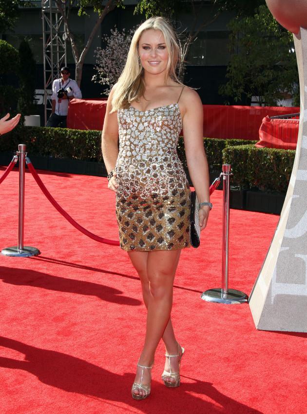Lindsey Vonn at the ESPYs