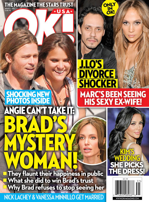 Brad's Mystery Woman!