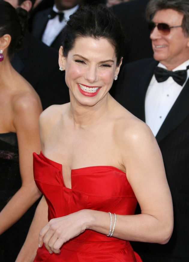 Sandra Bullock Oscars Dress