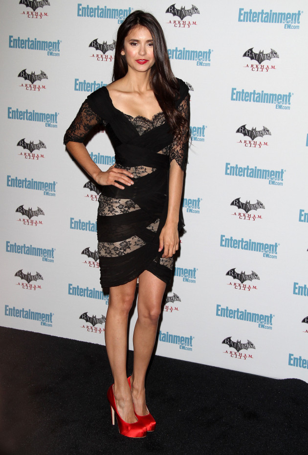 Nina Dobrev at Comic-Con