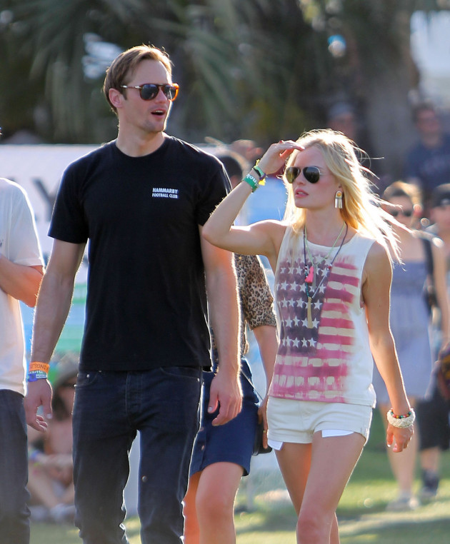 Alexander Skarsgard and Kate Bosworth Photo