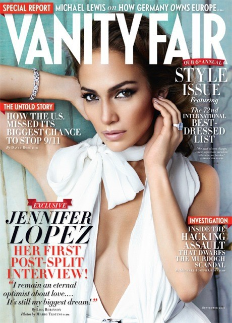 Jennifer Lopez Vanity Fair Cover