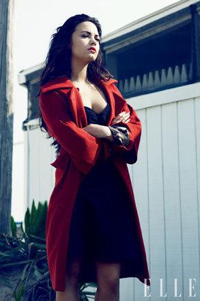 Demi Lovato Elle Picture