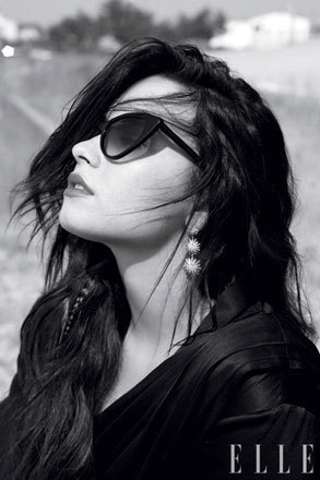 Demi Lovato in Elle