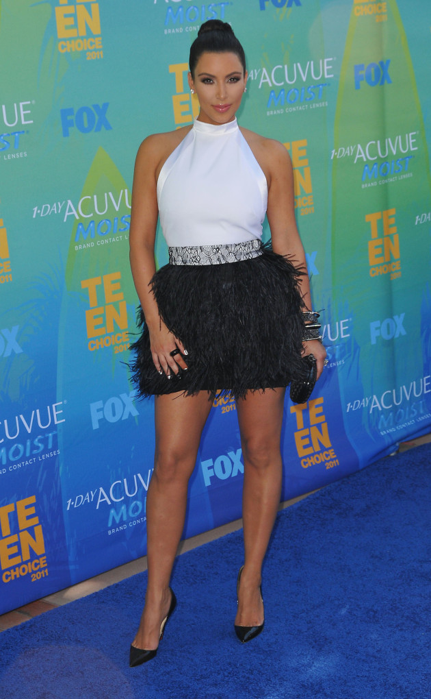 Kim Kardashian at the TCAs