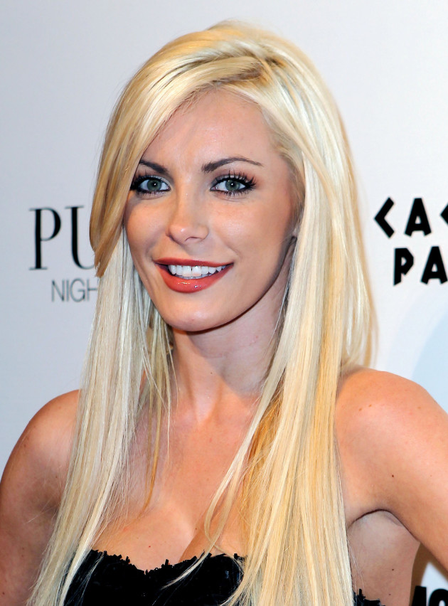 Crystal Harris in Vegas