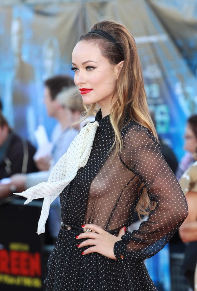 Olivia Wilde Side Boob Dress